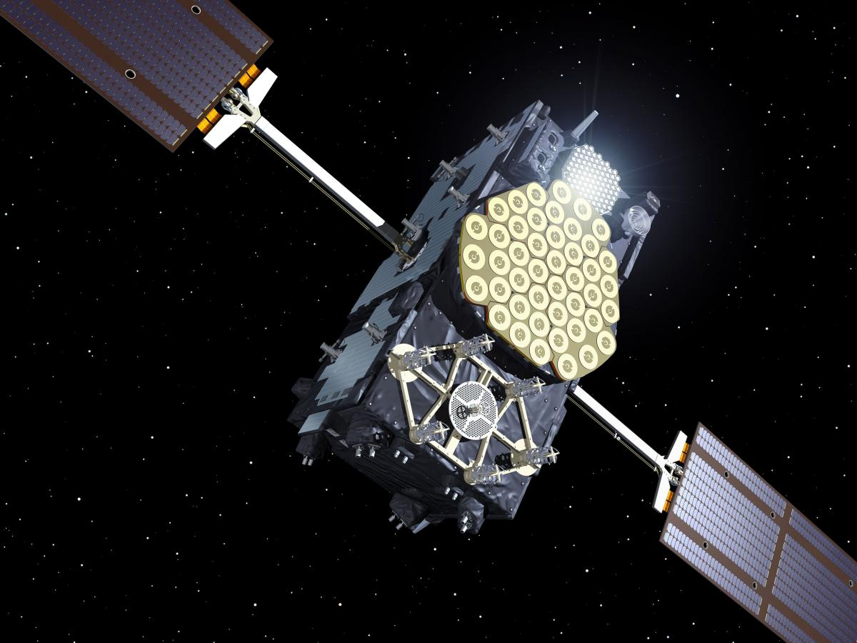 Galileo IOV satellite